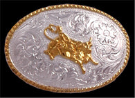 (3DB-BK190) Western Kid's Bullrider Belt Buckle