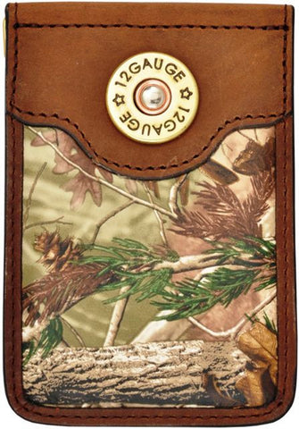 (3DB-BMC312) Badger Brown Camo Money Clip