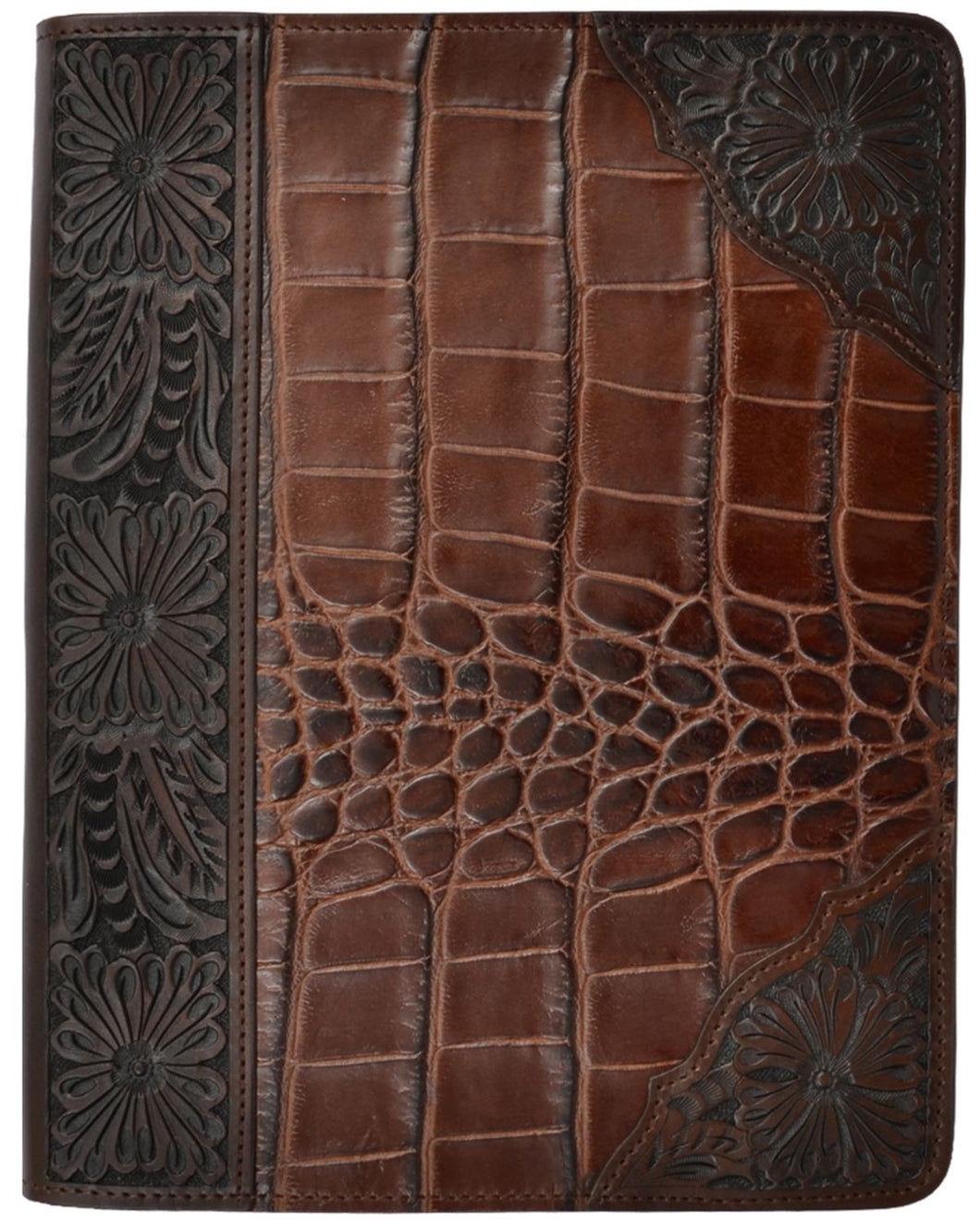 (3DB-G294) Western Brown Gator Print iPad® Air Cover