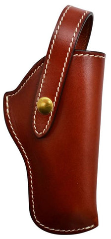(3DB-HOL151) Western Brown Leather Revolver Holster