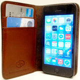 (3DB-JBPH021) Western Light Natural Phone Case/Wallet for iPhone 5/5s by Justin