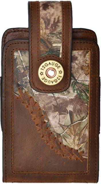 (3DB-JWPH002) Justin Original Workboots Brown Large Smartphone Holder