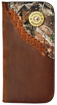 (3DB-JWPH006) Justin Original Workboots Brown iPhone® 6 Phone Case/Wallet