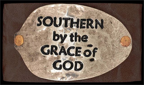 "(3DB-LB8660BSO) ""Southern By the Grace of God"" Bracelet"
