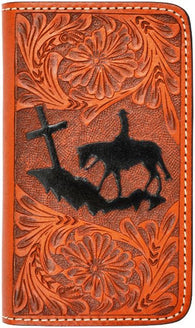(3DB-PH033) Western Christian Cowboy Phone Case for iPhone 4/4s