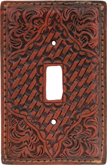 (3DB-SP511) Western Tan Resin Switch Plate