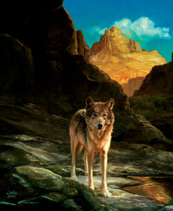 """Lone Wolf"" 1000 Pc  Jigsaw Puzzle"