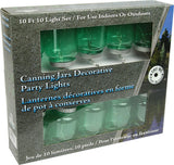 Canning Jar Party Lights 10 Pc. Set
