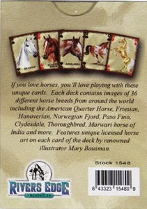 Western Horse Playing Cards
