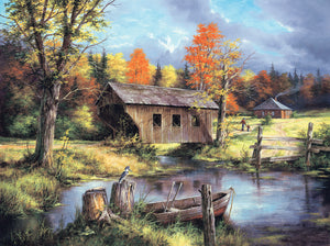 """Home From the Field"" 500 Pc  Jigsaw Puzzle"