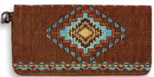"Load image into Gallery viewer, ""Tucumcari"" Woven Ladies' Wallet"