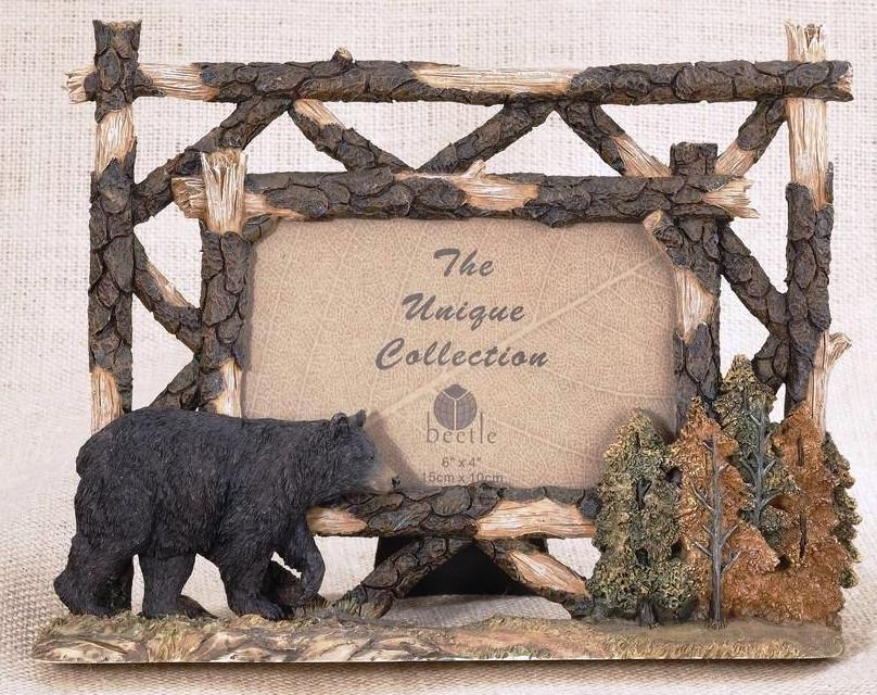 Bear & Wood Photo Frame - 4