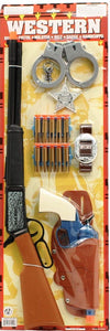 Kid's Rifle Sheriff Set with Safety Darts and Handcuffs