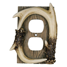 Load image into Gallery viewer, Antler Outlet Plate Cover