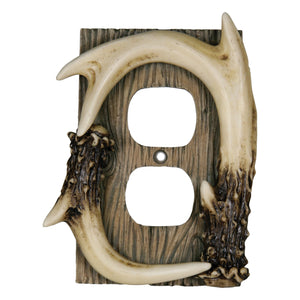 Antler Outlet Plate Cover