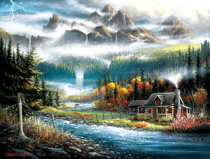 """Valley Paradise""  500 Pc  Jigsaw Puzzle"
