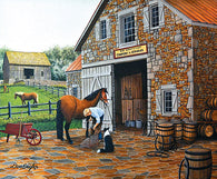"""Coppery and Stables"" 300 Pc  Jigsaw Puzzle"