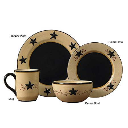 ...  Star Vine  Western 16-Piece Dinnerware ...  sc 1 st  Wild West Living & Star Vine