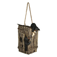 Load image into Gallery viewer, Bears Outhouse Birdhouse