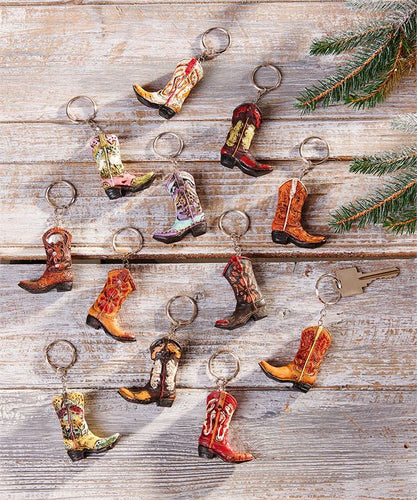 Cowboy Boot Key Chain