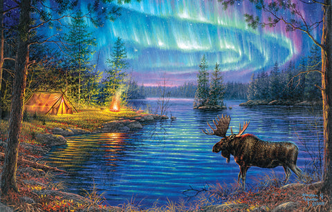 """Northern Night"" 1000+ Pc  Jigsaw Puzzle"