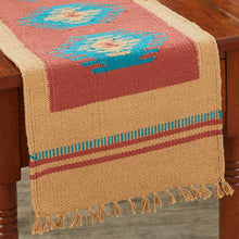 Load image into Gallery viewer, Taos Woven Table Runner (Choose From 2 Sizes)