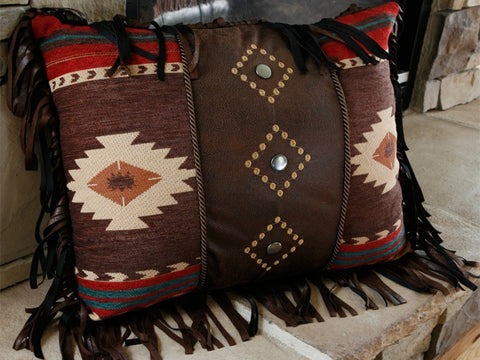 """Cimarron"" Western Decorative Pillow - 16"" x 20"""