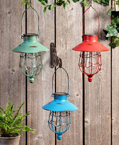 Hanging Solar Lanterns - Choose from 3 Colors!