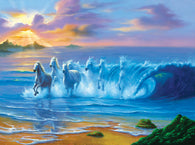 """Wild Waves"" 1000 Pc  Jigsaw Puzzle"