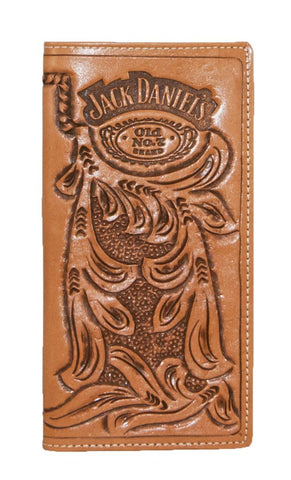 Jack Daniels Old Number 7 Brand Rodeo Wallet
