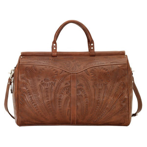 """Retro Romance"" Western Leather Duffel Bag - Choose From 3 Colors!"