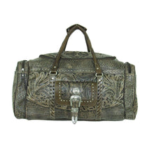 "Load image into Gallery viewer, ""Retro Romance"" Western Leather Rodeo Bag - Choose From 3 Colors!"