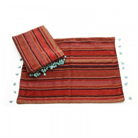 Western Moments Monarch Red Placemats - Set of 4