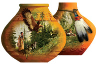 """Indian Pots""  Shaped 1000 Pc  Jigsaw Puzzle"