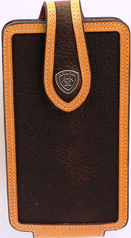 Western Brown Rowdy Cell Phone Holder for iPhone 6/7/8+