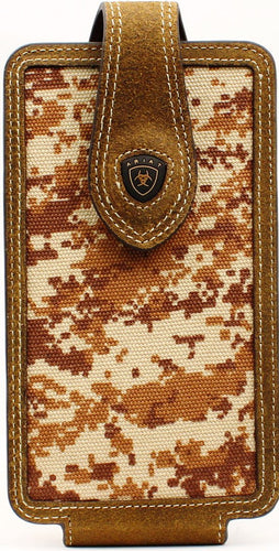 Western Brown Camo Cell Phone Holder for iPhone 6/7/8+