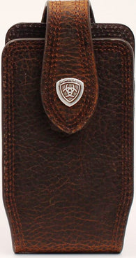 justin leather goods company combination auto license and key case