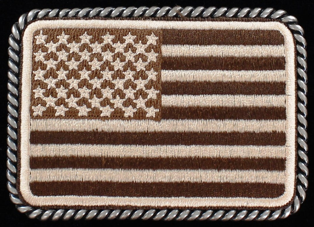 American Flag Belt Buckle by Ariat
