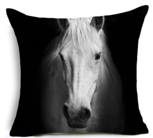 """Fierce Grace"" Accent Pillow 18"" x 18"""