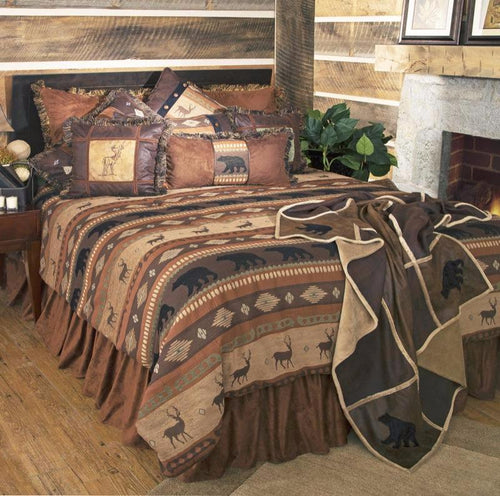 Autumn Trails Western Bedding Set