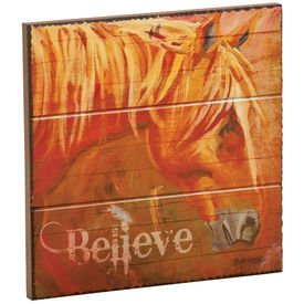 """ Believe"" Wall Plaque"