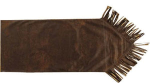 Faux Leather Western Table Runner