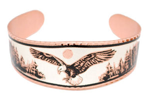 Copper Eagle Bracelet