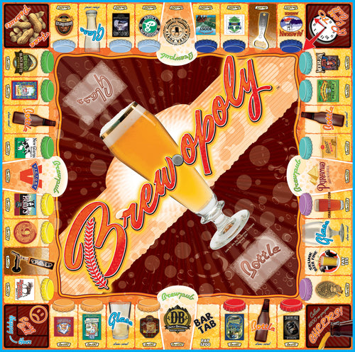 Brew-opoly Western Board Game