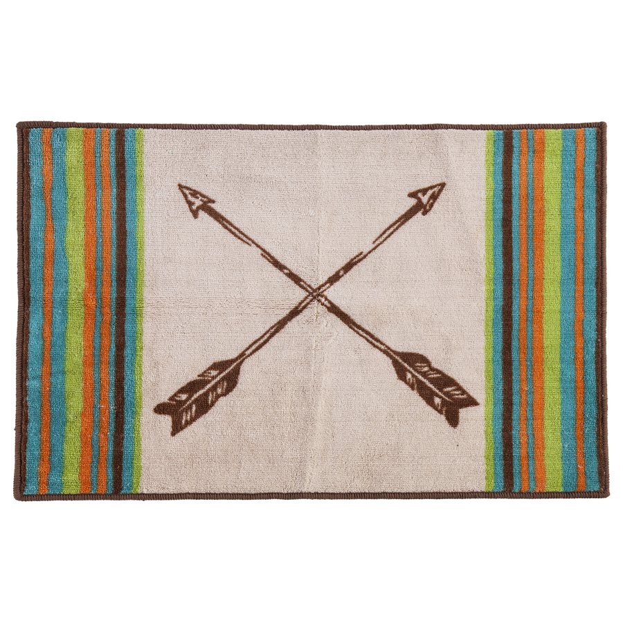 Crossing Arrows Western Accent Rug