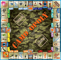 Camo-opoly Western Board Game