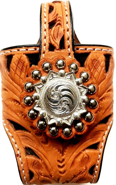 Filigree Western Cell Phone Holder - for Flip Phones