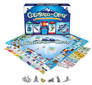 Colorado-Opoly Western Board Game