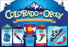 Load image into Gallery viewer, Colorado-Opoly Western Board Game