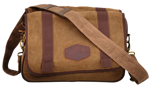 Western Oiled & Waxed Messenger Bag Briefcase